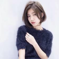 ひし形シルエットのワンカールボブ Dishel清井慎二blog