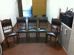 Sedie Francesi Antiche : Coppia di antiche sedie in legno appartenute barone mollerus