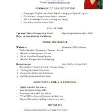 Best Resume Format For Job Best Resume Format Pdf For Freshers Sample Job Resume Format Best 33