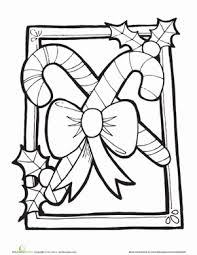 Small Picture Candy Canes Coloring Pages Elegant Tree Coloring Pages For