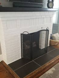 Best 25+ Fireplace hearth ideas on Pinterest | White fireplace, Stone  fireplace makeover and White fireplace mantels