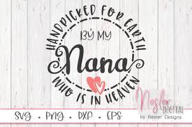 Nana In Heaven Graphic By Neslerdigitaldesigns Creative Fabrica