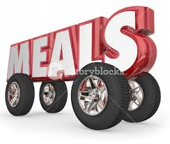 Word In Red Meals Word In Red 3d Letters On Wheels Or Tires To