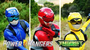 Power Rangers vs the Clones | Power Rangers Beast Morphers | Power Rangers  Official - YouTube