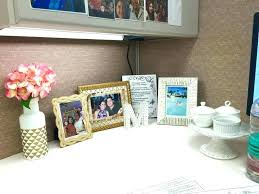 decorate your office desk. Perfect Decorate Work Desk Decor Office Best Decorating Cubicle Ideas On  For   To Decorate Your Office Desk