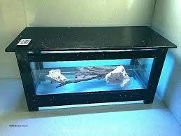 fish tank coffee table aquarium glass tables luxury plans diy decoration synonym