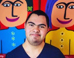 Alan Téllez, pintor con Síndrome de Down, llevará su arte a Nueva York |  POSTA