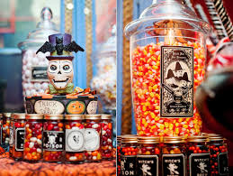 halloween wedding candy bar. Plain Candy Cdraculainspiredhalloweenwedding029  And Halloween Wedding Candy Bar W