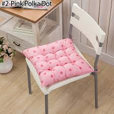 tie on chunky seat chair cushion pads for
