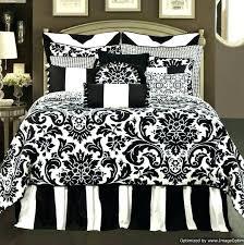 black white comforter sets image of modern black and white bedding white and green comforter sets