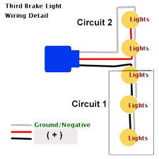 rd brake light disable for those who interested in remove the 3rd brake completely and keep the brake circuit intact this is how you do it