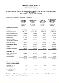 Annual Financial Statements Template Wepage Co