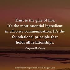 Quotes On Leadership Magnificent Rt 48millionmiler Trust Is The Glue Of Life Stephenrcovey