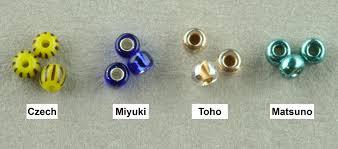 Toho Beads Color Chart Seed Bead Manufacturers Variations Linda K Landy