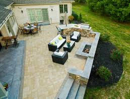 install a paver or natural stone patio