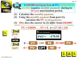 Amortization Of Loans Amortization Of Loans 3 3 Mcgraw Hill Ryerson