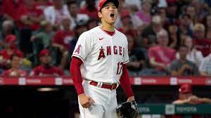 Ohtani hurls 6 innings, doubles in ...