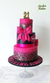 89 21st Birthday Cake Ideas Female 21st Birthday Cakes For Women