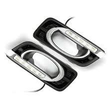 Car Led Daytime Running Light Drl Fog Light For Honda City 20112012