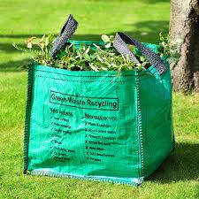 garden bags. You Could Have Three Garden Waste Bags For Different Sets Of Wastes. B