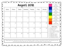 The First Grade Scoop Freebie Behavior Charts For Parents