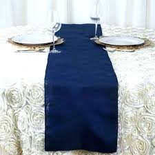 navy blue tablecloth s satin round plastic 70 inch