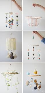 DIY: Embroidery Hoop Baby Mobile