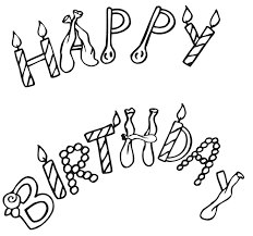 Download all the pages and create your own coloring book! Printable Coloring Pages Birthday Coloring Pages