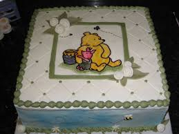 Classic Winnie The Pooh Cake Designs Classic Winnie The Pooh Baby Shower Cake Buttercream With