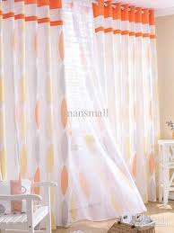concise orange geometric poly cotton blend trendy curtains amp sheer set u10 17t8 pink sheer curtains blue sheer curtains from mansmall 69 83 dhgate