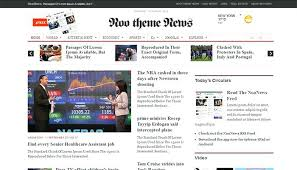 Newspaper News Blogger Template Magazine Style Templates Powerbots Co