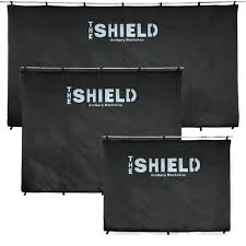 the bup shield archery backstop the shield black