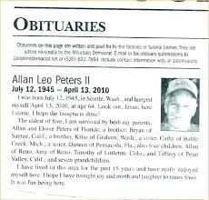 Obituary Template Father With Picture Coolcalendarapp Com