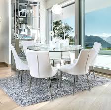 glass dinette sets glass dinette table sets inspirational round glass table set furniture in round glass