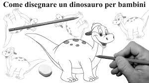 Come Disegnare Un Dinosauro Per Bambini