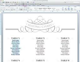 Free Seating Arrangement Template Wedding Table Template Wedding
