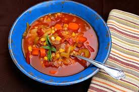 homemade vegetable soup pressure cooker