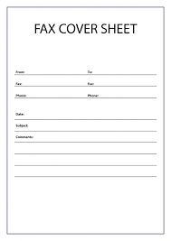 Free Printable Fax Cover Free Printable Fax Cover Sheet A4 Size Free Printable 2019