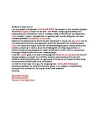 Letters Of Recommendation For Educators College Recommendation Letter From A Math Teacher By A R Mathematics