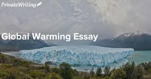 essay on global warming v jpg