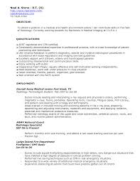 X Ray Tech Resume Free Resume Example And Writing Download