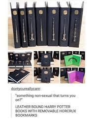 books harry potter and book dontyoureallycare something non ual that