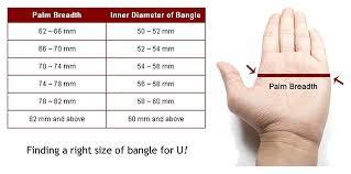 Bracelet Cuffs Sizing Chart Bahati