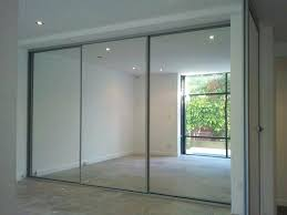 frameless mirrored sliding closet doors impressive finished mirrored sliding door wardrobe glass panels in three frameless mirrored sliding closet