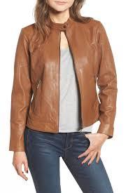 image of bernardo kirwin leather moto jacket