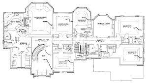 modern luxury house plan custom home floor plans custom decor modern luxury house plans