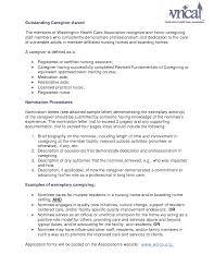 Sample Cover Letter For Caregiver Receipt Format Word