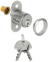 central locking push on cylinder with pin tumbler cylinder standard profile for wooden sliding doors and for installing