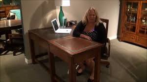 craftsman home corner desk by riverside furniture home gallery s
