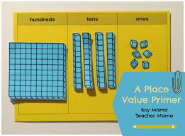 Magnetic Place Value Chart Teacher Mama Place Value Primer Boy Mama Teacher Mama